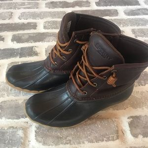 Sherry brown duck boots